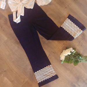 Crochet Palazzo pants